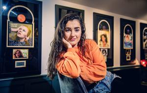 The Voice contestant Brooke Scullion at home in Bellaghy for the Weekend Magazine on March 11th 2020 (Photo by Kevin Scott for Belfast Telegraph)
