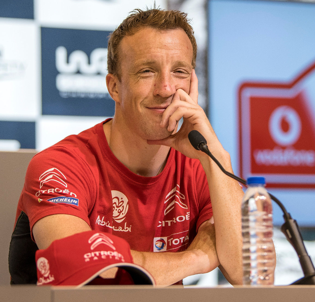 Next gear: Kris Meeke is in the running for a return to rallying