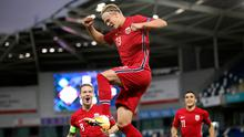 Norway's Erling Braut Haaland was unstoppable last night