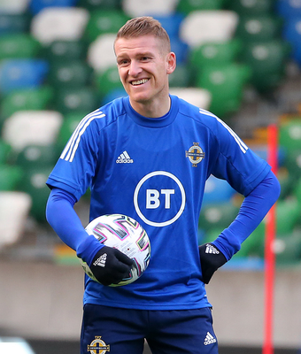 Northern Ireland captain Steven Davis is in for an historic evening.