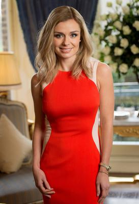 Katherine Jenkins hosts a breakfast for key press to announce her signing new deal with Decca Records at The Ritz on January 20, 2014 in London, England.  (Photo by Ian Gavan/Getty Images)
