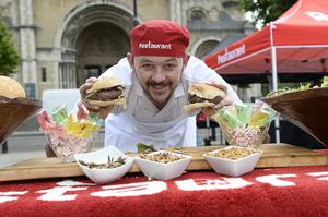 Belfast chef Robert McMahon is on hand to make sure all the delicacies are cooked to perfection