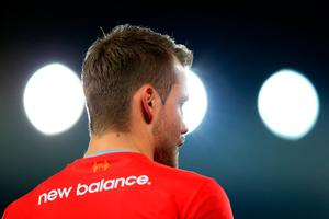 LIVERPOOL, ENGLAND - OCTOBER 25: Simon Mignolet of Liverpool looks on ahead of the EFL Cup fourth round match between Liverpool and Tottenham Hotspur at Anfield on October 25, 2016 in Liverpool, England.  (Photo by Jan Kruger/Getty Images)