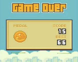 Flappy Bird has proved to be a surprise hit in the competitive mobile phone game market