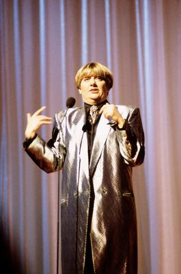 UNITED KINGDOM - JANUARY 01:  Photo of Victoria WOOD; Victoria Wood performing on stage  (Photo by David Redfern/Redferns)
