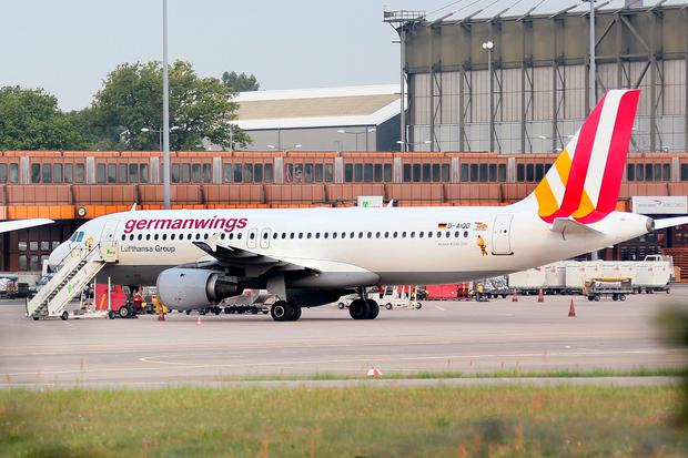 An Airbus 320 aircraft of Lufthansa's low-cost subsidiary Germanwings