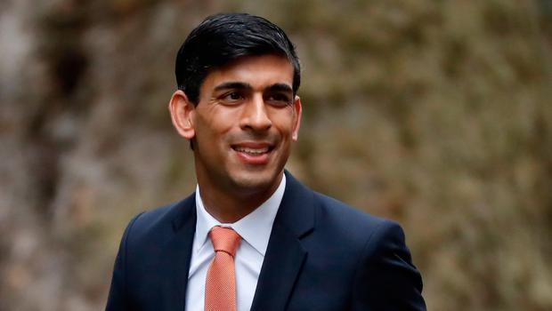 Britain's Chief Secretary to the Treasury Rishi Sunak arrives at 10 Downing Street in central London on February 13, 2020. (Photo by TOLGA AKMEN/AFP via Getty Images)