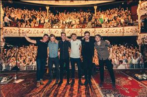 Niall Horan and his band on stage at the Olympia Theatre, Dublin (Niall Horan/Instagram)