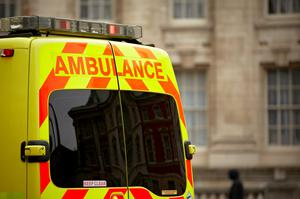 A man targeted in an apparently unprovoked attack suffered a bleed to his brain and had his jaw broken, police have said