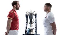 Face to face: Alun Wyn Jones and Dylan Hartley