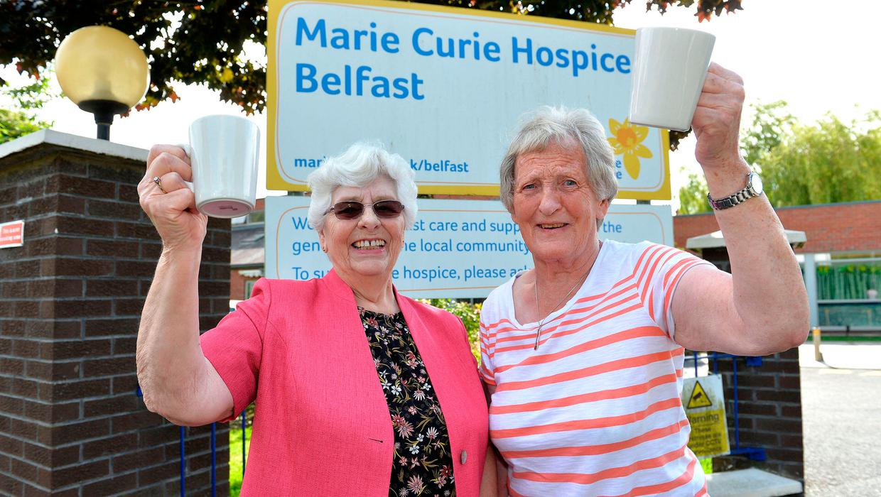 Marie Curie volunteers retire after 50 years of joint service