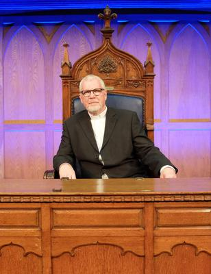 Rev Dr David Bruce became the 175th person to hold the post during a livestreamed ceremony in Belfast.