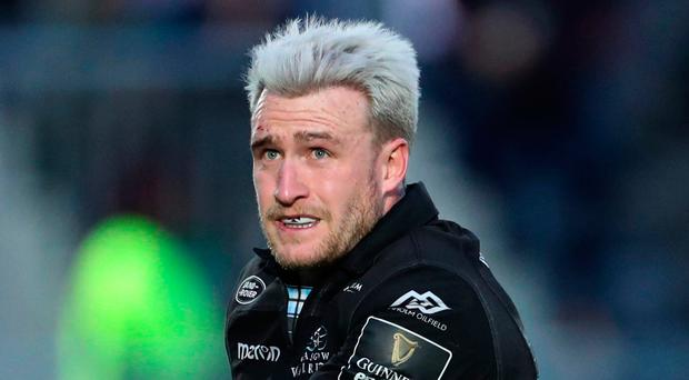 Thinking big: Stuart Hogg is striving to lift the trophy