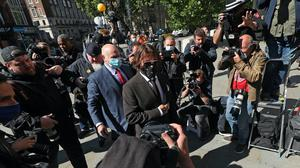 Actor Johnny Depp is giving evidence on the fourth day of his libel action against The Sun newspaper (Yui Mok/PA)