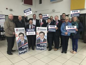 UUP councillor Chris Smyth has been selected to represent the party at the West Tyrone by-election.