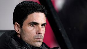 Arsenal manager Mikel Arteta has tested positive for coronavirus (John Walton/PA)