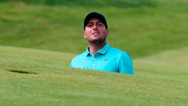 Italy's Francesco Molinari on the 2nd during preview day three of The Open Championship 2019 at Royal Portrush Golf Club. PRESS ASSOCIATION Photo. Picture date: Tuesday July 16, 2019. See PA story GOLF Open. Photo credit should read: Niall Carson/PA Wire. RESTRICTIONS: Editorial use only. No commercial use. Still image use only. The Open Championship logo and clear link to The Open website (TheOpen.com) to be included on website publishing.