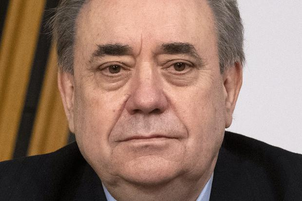 Mr Salmond was questioned at length by the committee (Andy Buchanan/PA)