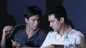 Shah Rukh Khan and Aamir Khan (AP Photo/Rajanish Kakade, File)