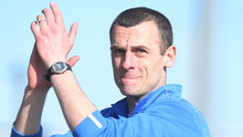 Bursting with pride: Oran Kearney can't wait to lead Coleraine out in the Irish Cup final, but he insists they're coming to win. Photo: Jonathan Porter/Presseye