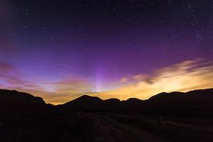 Aurora at the Mournes. By Ryno Image