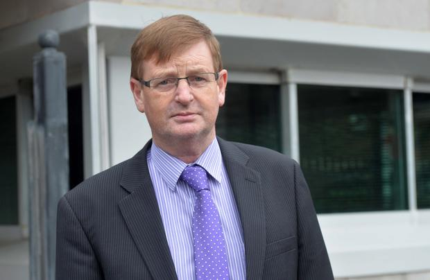 Pacemaker Press 28/7/2015 Willie Frazer attends court, as Frank McGirr appeared at Armagh Court. Pic Pacemaker