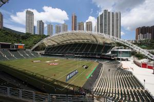 HONG KONG - MAY 31:  A general view of the Hong Kong Stadium venue for the British and Irish Lions match against the Barbarians on May 31, 2013 in Hong Kong.  (Photo by David Rogers/Getty Images)
