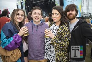 Fans out to see Green Day at Ormeau Embankment, Belfast. Wednesday 28th June 2017 Liam McBurney/RAZORPIX