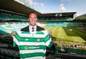 File photo dated 23-05-2016 of New Celtic manager Brendan Rodgers PRESS ASSOCIATION Photo. Issue date: Monday July 18, 2016. As Scotland's highest-ever paid boss on a deal worth around £50,000 a week, Brendan Rodgers has not come cheap for Celtic. See PA story SOCCER Pre-Season Scottish Talking Points. Photo credit should read Danny Lawson/PA Wire.