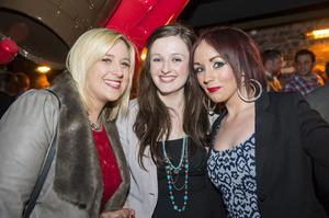 The dirty onion beer garden pictured Ciara Devitt, Joanne McNamee and rose Kelly