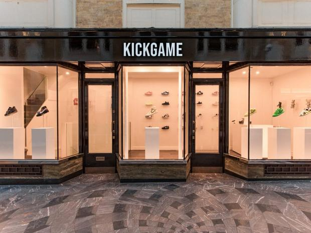 Kick Game opened a store in London's Burlington Arcade in October last year (Kick Game/PA)