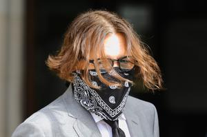 Johnny Depp is at the Royal Courts of Justice in central London for his libel action against The Sun newspaper (Aaron Chown/PA)