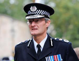 """File photo dated 30/09/12 of Chief Constable of South Yorkshire Police, David Crompton, who has said his force """"unequivocally"""" accepts the verdict of unlawful killing and the wider findings reached by the jury in the Hillsborough inquests, adding: """"As I have said before, I want to apologise unreservedly to the families and all those affected."""" PRESS ASSOCIATION Photo. Issue date: Tuesday April 26, 2016. See PA story INQUEST Hillsborough SYP. Photo credit should read: Anna Gowthorpe/PA Wire"""