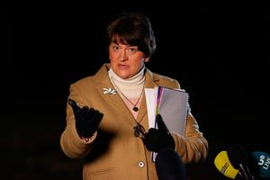 First Minister Arlene Foster. Liam McBurney/PA Wire