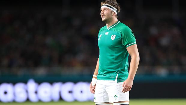 Iain Henderson, pictured, believes Andy Farrell has brought a different mentality to Ireland (Adam Davy/PA)