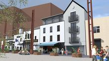 An artist's impression of what the new hotel could look like