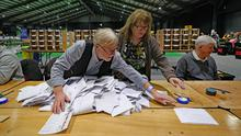 Health and housing played a key role in how people voted, an exit poll suggested (Niall Carson/PA)