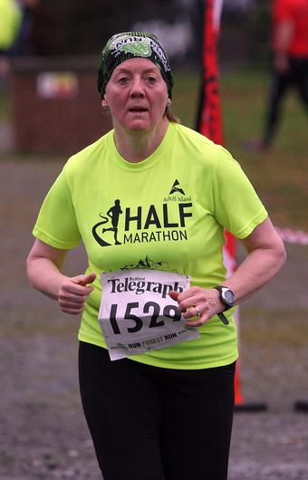 Mandatory Credit - Picture by Freddie Parkinson/Press Eye © Saturday 3rd December 2016 Belfast Telegraph Run Forest Run Loughgall. Loughgall Country Park, 11-14 Main Street, Loughgall, Armagh.  roisin O'Hare 10K Tullysaran