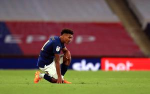Brentford's prolific striker Ollie Watkins was left dejected after failing to fire his side to victory (Mike Egerton/PA)