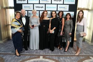 Press Eye - Belfast - Northern Ireland - 2nd May 2019 -   Staff from Roco Boutique pictured at the Belfast Telegraph Business Awards in association with Ulster Bank at the Crowne Plaza Hotel, Belfast. Photo by Kelvin Boyes / Press Eye.