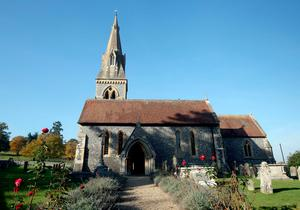 File photo dated 31/10/16 of St Mark's church in Englefield, Berkshire, where Pippa Middleton, sister of the Duchess of Cambridge, will wed James Matthews this morning, the event has been dubbed the society wedding of the year. PRESS ASSOCIATION Photo. Issue date: Saturday May 20, 2017. See PA story ROYAL Pippa. Photo credit should read: Steve Parsons/PA Wire