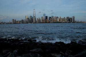 JERSEY CITY, NJ - SEPTEMBER 10: Lower Manhattan is seen from Liberty State Park on September 10, 2014 in Jersey City New Jersey. Tomorrow marks the 13th anniversary of the 9/11 terrorist attacks that claimed the lives of 2,996 people in New York City, Washington, DC and a field in Shanksville, Pennsylvania.  (Photo by Kena Betancur/Getty Images)