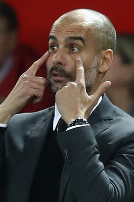 Time is crucial: Manchester City manager Pep Guardiola believes he is close to making things click at the Etihad Stadium