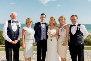 Connor Phillips and Holly Hamilton's wedding