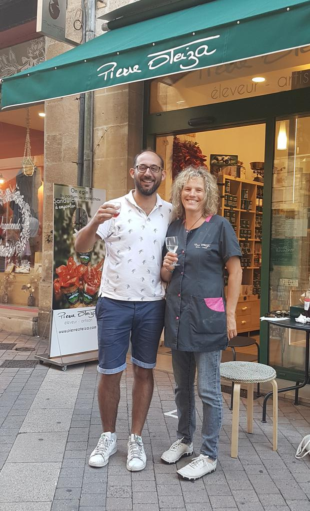 Benjamin and Cathy from Bordeaux