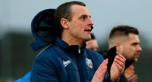Marching on: Oran Kearney is only focused on Dungannon