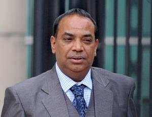 Indian Holy Man Charanjit who was convicted at Belfast Crown Court of raping a girl.