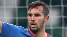 Linfield's Andrew Waterworth has sustained a serious medial knee ligament injury. Photo: William Cherry/Presseye