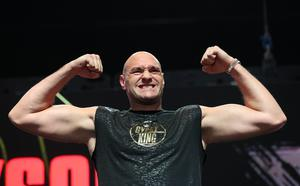 Tyson Fury is likely to be Joshua's next opponent if he beats Pulev (Bradley Collyer/PA)