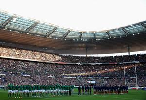 A general view during the RBS Six Nations match between France and Ireland at Stade de France on March 15, 2014 in Paris, France.  (Photo by Julian Finney/Getty Images)